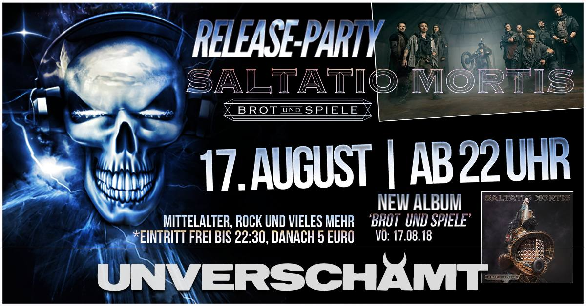 Release-Party Saltatio Mortis