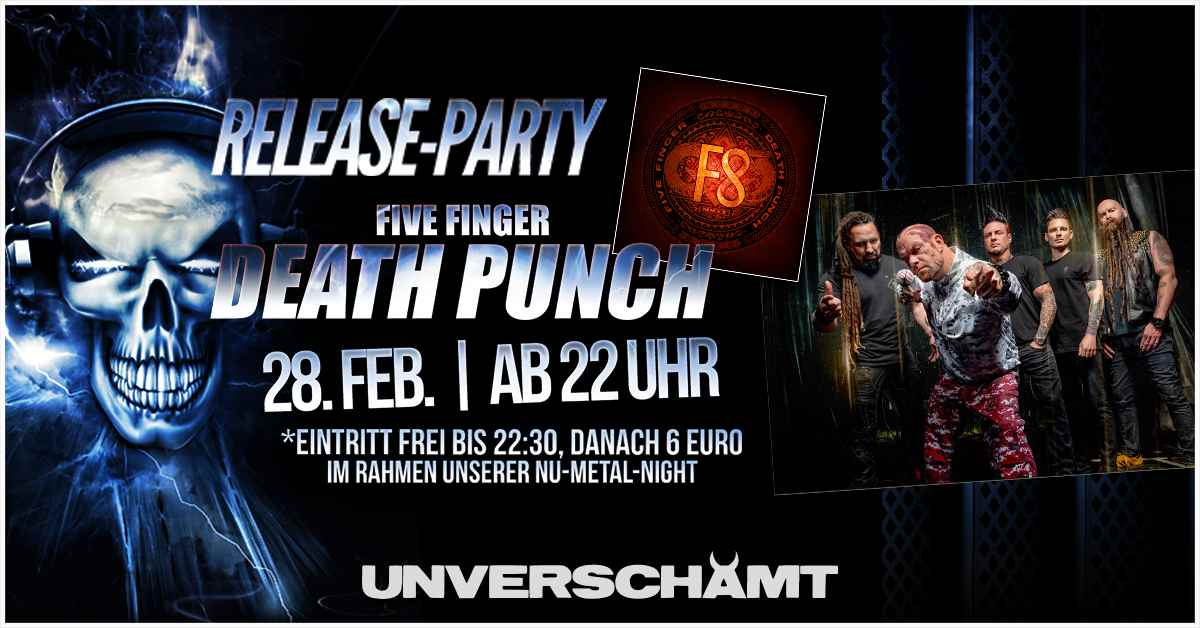 Release-Party: Five Finger Death Punch