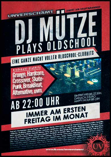 DJ Mütze plays Oldschool