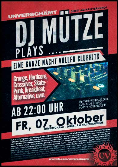 DJ Mütze plays